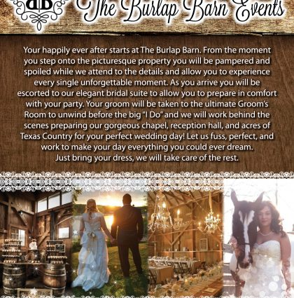 Burlap Barn Events Storyboard